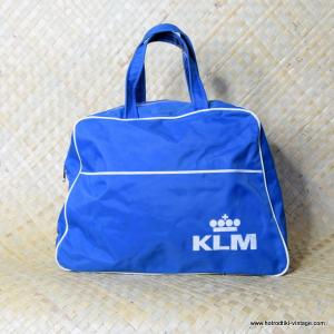 Vintage KLM Royal Dutch Airlines Flight Bag 1