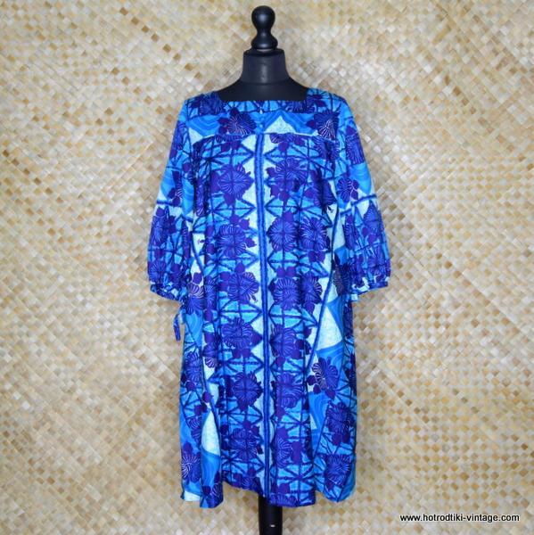 1960's Ladies Hawaiian Surf Hawaiian Dress 1