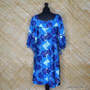 1960's Ladies Hawaiian Surf Hawaiian Dress 5
