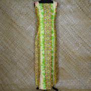 1960's Ladies Alice Polynesian Long Dress 1