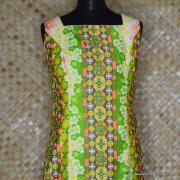 1960's Ladies Alice Polynesian Long Dress 2