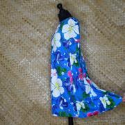 1960's Ladies Blue Hawaiian Dress 5
