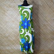1960's Ladies Royal Hawaiian Waterfall Dress 1