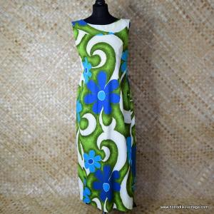 05866f63b597a 1960's Ladies Vintage 'Royal Hawaiian' Waterfall Dress