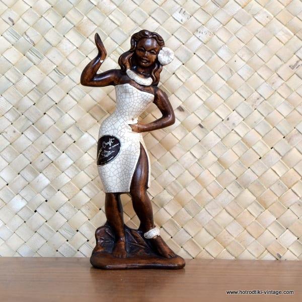 1960's Treasure Craft Wahine Hula Girl Figure 1