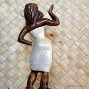 1960's Treasure Craft Wahine Hula Girl Figure 8