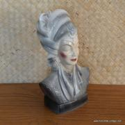 1950's Navis & Smith Asian Bust Head TV Lamp 12