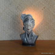 1950's Navis & Smith Asian Bust Head TV Lamp 2