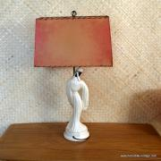 1950's Roma Art Pair of Oriental Figure Table Lamps 17