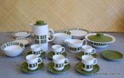 1970's Vintage 'Johnson Brothers' Snowhite' Coffee Set 1