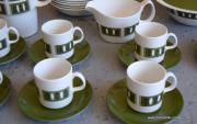 1970's Vintage 'Johnson Brothers' Snowhite' Coffee Set 4