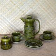 1960's Lord Nelson Ware Coffee Set 10 Piece 1